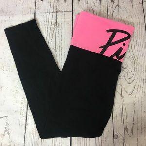 PINK Victoria's Secret Pink Yoga Leggings